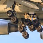 Plynové vzpery na lietadle