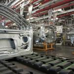 plynové vzpery vo fabrike